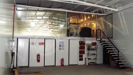 Oficinas modulares prefabricadas for Oficinas modulares